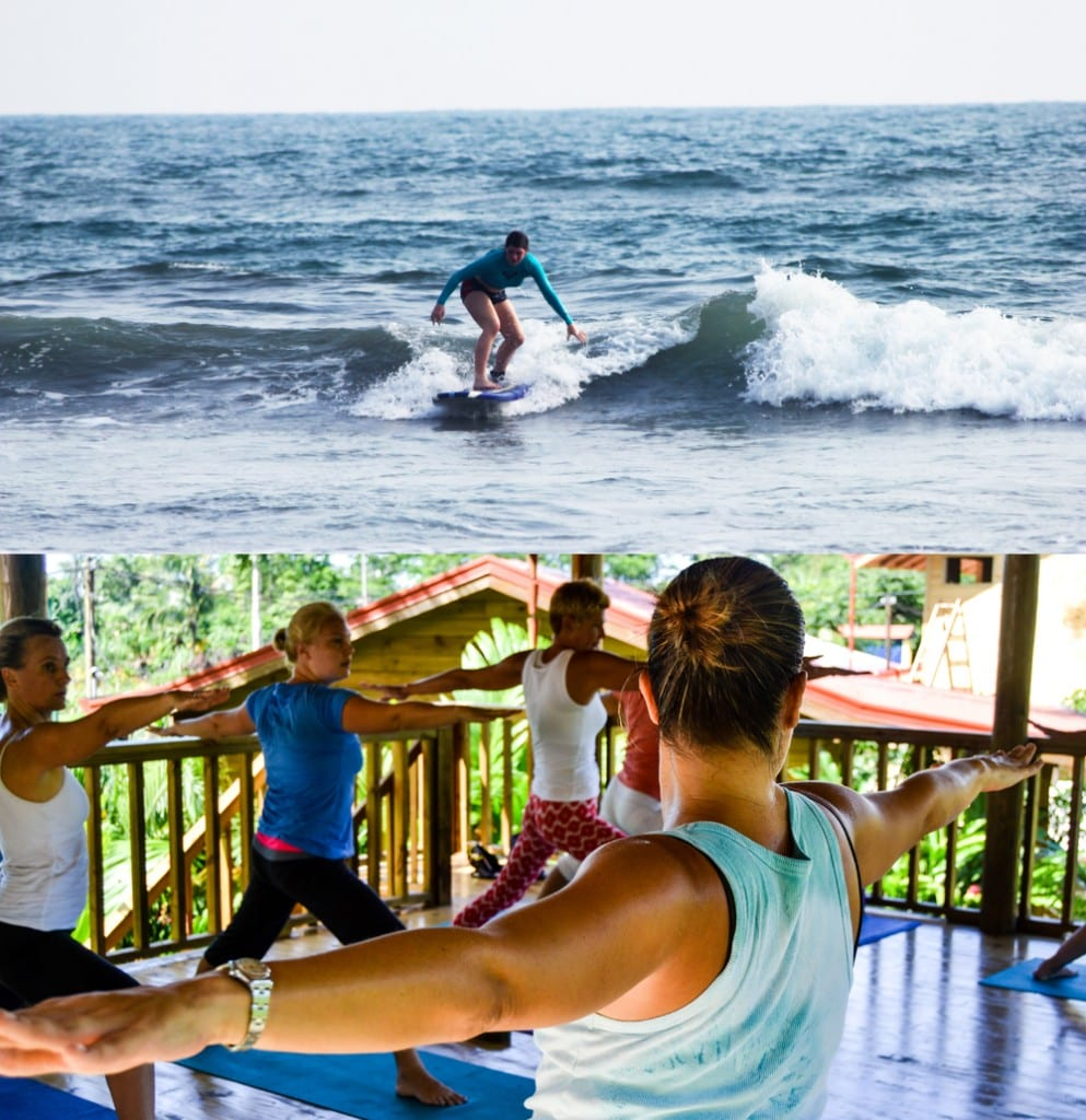 Surf and yoga in Costa Rica