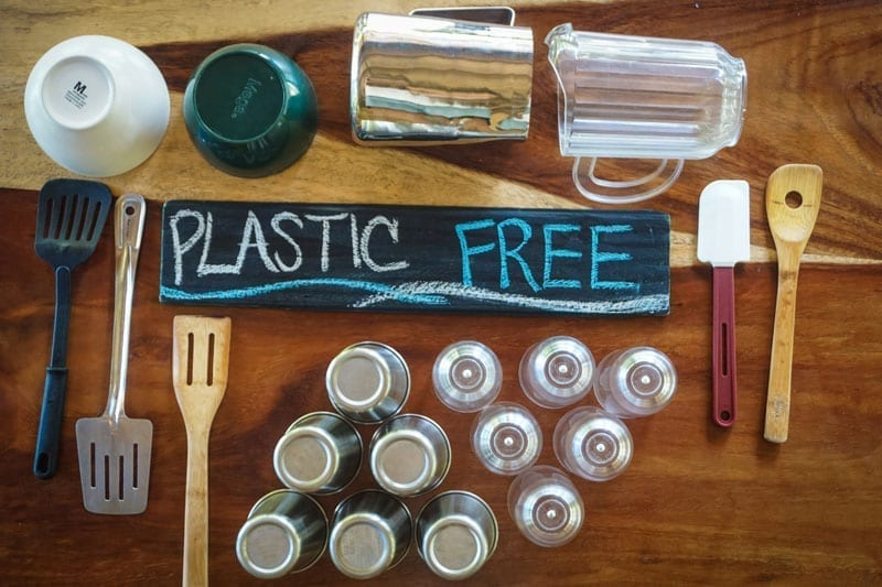 Plastic-free tourism destination