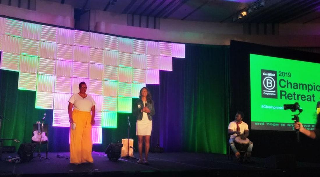 Adrianne Chandra-Huff at 2019 B Corp Champions Retreat