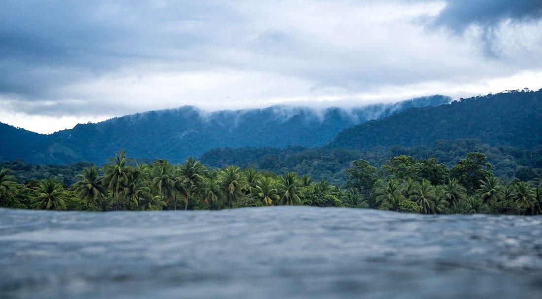 Marine environment in Bahia Ballena, Costa Rica
