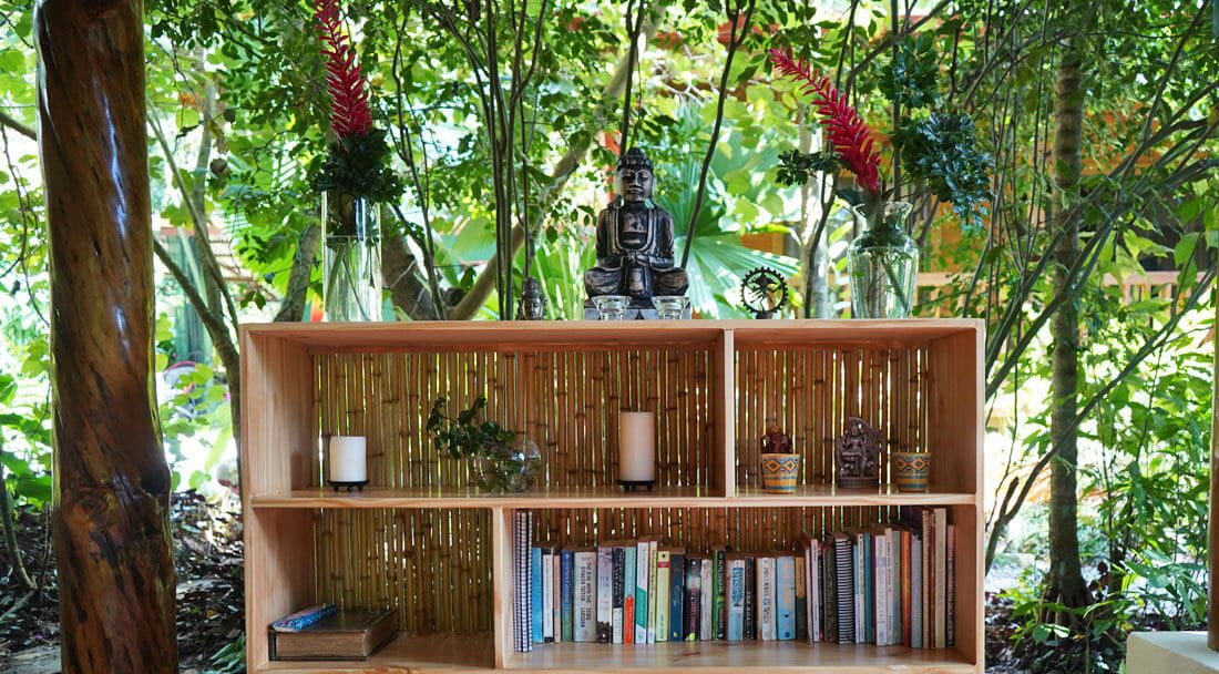 Yoga books at Bodhi Surf + Yoga